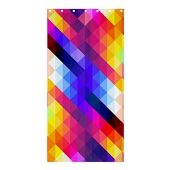 Abstract Background Colorful Pattern Shower Curtain 36  X 72  (stall)  by Sapixe