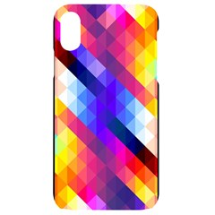 Abstract Background Colorful Pattern Iphone Xr Black Uv Print Case