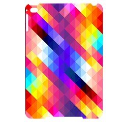 Abstract Background Colorful Pattern Apple Ipad Mini 4 Black Uv Print Case