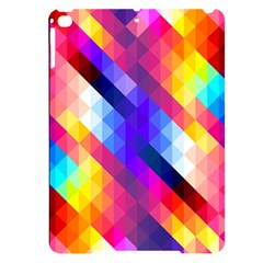 Abstract Background Colorful Pattern Apple Ipad Pro 9 7   Black Uv Print Case