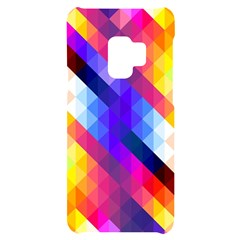 Abstract Background Colorful Pattern Samsung S9 Black Uv Print Case