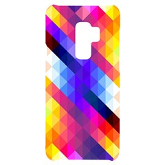 Abstract Background Colorful Pattern Samsung S9 Plus Black Uv Print Case
