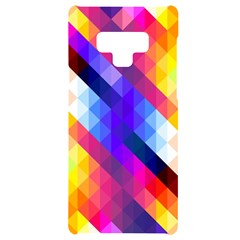 Abstract Background Colorful Pattern Samsung Note 9 Black Uv Print Case