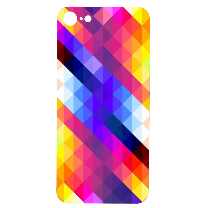 Abstract Background Colorful Pattern iPhone 7/8 Soft Bumper UV Case