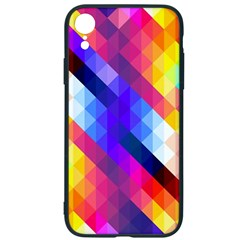 Abstract Background Colorful Pattern Iphone Xr Soft Bumper Uv Case