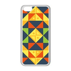 Background Geometric Color Iphone 5c Seamless Case (white) by Sapixe