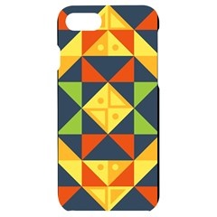 Background Geometric Color Iphone 7/8 Black Uv Print Case