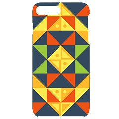 Background Geometric Color Iphone 7/8 Plus Black Uv Print Case