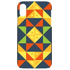 Background Geometric Color Iphone Xr Black Uv Print Case