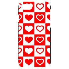 Background Card Checker Chequered Iphone 7/8 Black Uv Print Case