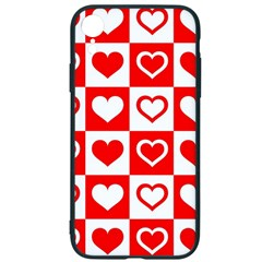 Background Card Checker Chequered Iphone Xr Soft Bumper Uv Case