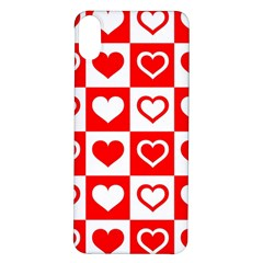 Background Card Checker Chequered Iphone X/xs Soft Bumper Uv Case