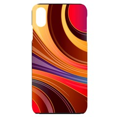 Abstract Colorful Background Wavy Iphone Xs Max