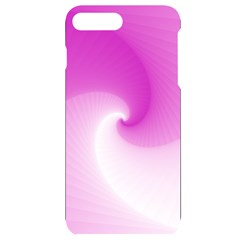 Abstract Spiral Pattern Background Iphone 7/8 Plus Black Uv Print Case