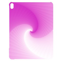 Abstract Spiral Pattern Background Apple Ipad Pro 12 9   Black Uv Print Case