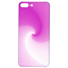 Abstract Spiral Pattern Background Iphone 7/8 Plus Soft Bumper Uv Case