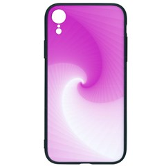 Abstract Spiral Pattern Background Iphone Xr Soft Bumper Uv Case
