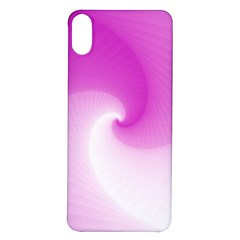 Abstract Spiral Pattern Background Iphone X/xs Soft Bumper Uv Case