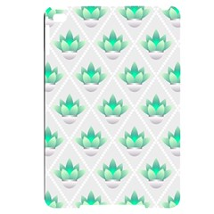 Plant Pattern Green Leaf Flora Apple Ipad Mini 4 Black Uv Print Case