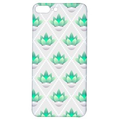 Plant Pattern Green Leaf Flora Iphone 7/8 Plus Soft Bumper Uv Case