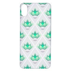 Plant Pattern Green Leaf Flora Iphone X/xs Soft Bumper Uv Case