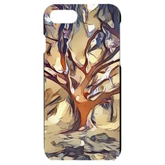 Tree Forest Woods Nature Landscape Iphone 7/8 Black Uv Print Case