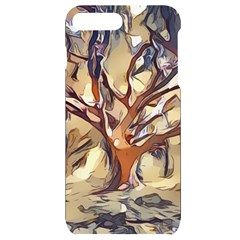 Tree Forest Woods Nature Landscape Iphone 7/8 Plus Black Uv Print Case