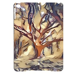 Tree Forest Woods Nature Landscape Apple Ipad Pro 9 7   Black Uv Print Case
