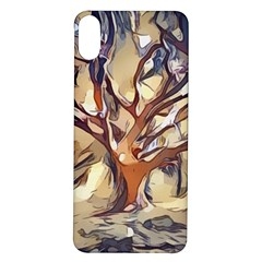 Tree Forest Woods Nature Landscape Iphone X/xs Soft Bumper Uv Case