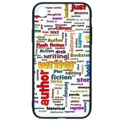 Writing Author Motivation Words Iphone Xr Soft Bumper Uv Case