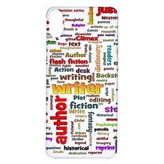 Writing Author Motivation Words Iphone X/xs Soft Bumper Uv Case