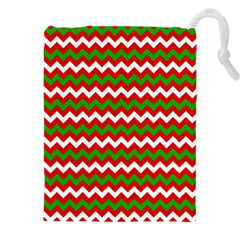 Christmas Paper Scrapbooking Pattern Drawstring Pouch (xxxl)