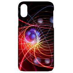 Physics Quantum Physics Particles Iphone Xr Black Uv Print Case