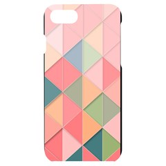 Background Geometric Triangle Iphone 7/8 Black Uv Print Case