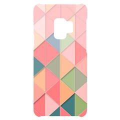 Background Geometric Triangle Samsung S9 Black Uv Print Case