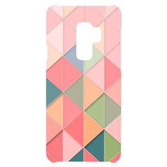 Background Geometric Triangle Samsung S9 Plus Black Uv Print Case