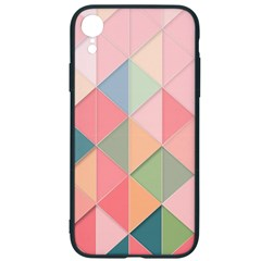 Background Geometric Triangle Iphone Xr Soft Bumper Uv Case