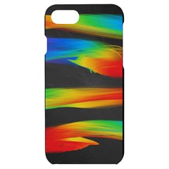 Colorful Background Iphone 7/8 Black Uv Print Case