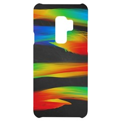 Colorful Background Samsung S9 Plus Black Uv Print Case