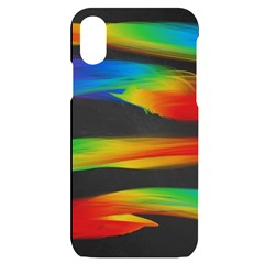 Colorful Background Iphone X/xs Black Uv Print Case