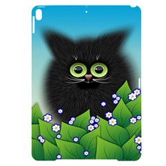 Kitten Black Furry Illustration Apple Ipad Pro 10 5   Black Uv Print Case