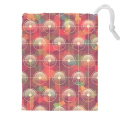 Colorful Background Abstract Drawstring Pouch (xxxl)