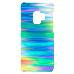 Wave Rainbow Bright Texture Samsung S9 Black Uv Print Case