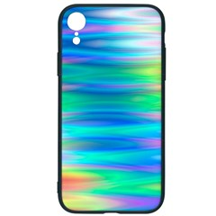 Wave Rainbow Bright Texture Iphone Xr Soft Bumper Uv Case