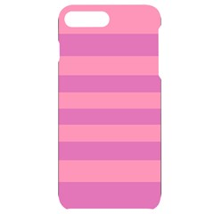 Pink Stripes Striped Design Pattern Iphone 7/8 Plus Black Uv Print Case