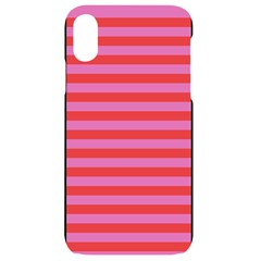 Stripes Striped Design Pattern Iphone Xr Black Uv Print Case
