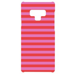 Stripes Striped Design Pattern Samsung Note 9 Black Uv Print Case