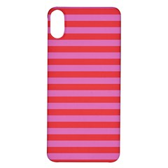 Stripes Striped Design Pattern Iphone X/xs Soft Bumper Uv Case