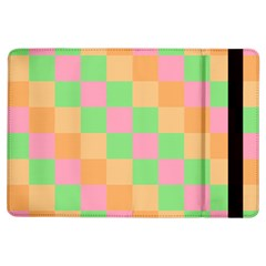 Checkerboard Pastel Squares Ipad Air Flip by Sapixe