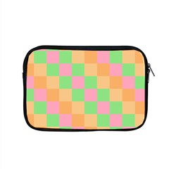Checkerboard Pastel Squares Apple Macbook Pro 15  Zipper Case by Sapixe